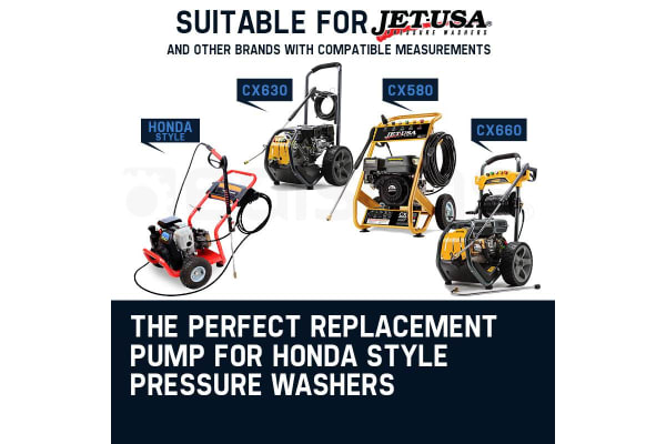 NEW Pressure Cleaner Pump Replacement Suits 5 - 8 HP Engines Honda JetUSA Washer
