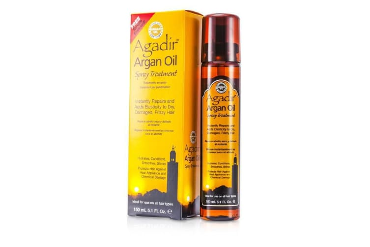 Agadir Argan Oil Hydrates, Conditions, Smoothes, Shine Spray Treatment (For All Hair Types) 150ml