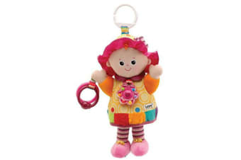 Lamaze Play and Grow Clip On My Friend Emily Doll