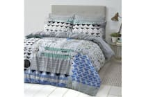 Style & Co 100 % Cotton Reversible Quilt Cover Set King Sassy