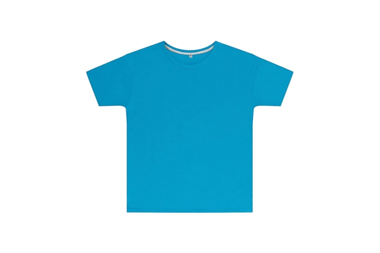 SG Childrens Kids Perfect Print Tee (Pack of 2) (Turquoise) (12-14 Years)