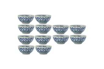 12x Maxwell & Williams Laguna 12.5cm Porcelain Snacks Dips Bowl Catch of The Day