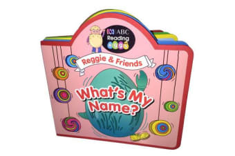 ABC Reading Eggs Puzzle Book - Reggie & Friends What's My Name?