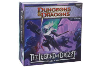 Legend of Drizzt Board Game - A Dungeons & Dragons Board Game