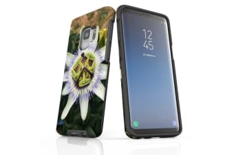 For Samsung Galaxy S9 Case Armour Cover  Blossoming Flower