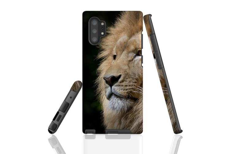 For Samsung Galaxy Note 10+ Plus Case  Armour Tough Cover  Lion