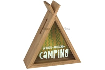 Something Different Camping Teepee Money Box (Brown) (One Size)