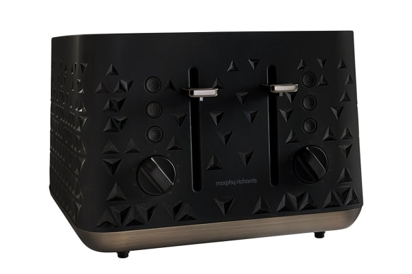 Morphy Richards Prism 4 Slice Toaster (Black)