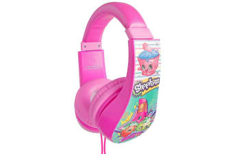 Shopkins Volume Limiting Kids Headphones