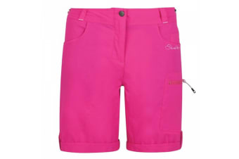 Dare 2B Womens/Ladies Melodic Hiking Shorts (Cyber Pink) (10)