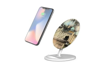 QI Wireless Charger For iPhone 11 Samsung Galaxy S20+ S20 Ultra Note 10+ Castle