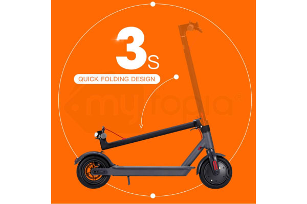Bullet Folding Electric Scooter with Xiaomi Mi Fitness Band 2 - Adults Kids e-Bike