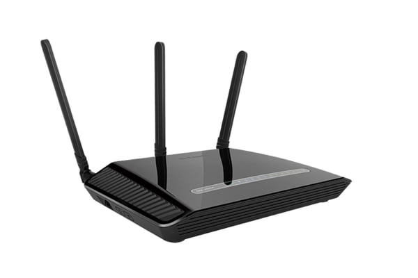 D-Link Dual Band Wireless AC1200 Gigabit ADSL2+ / VDSL2 Modem Router (DSL-2885A)