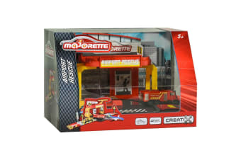 Majorette Creatix Airport Rescue Playset with Vehicle