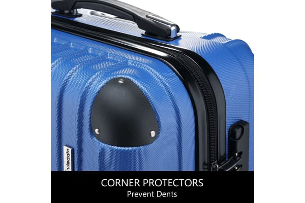 Buon Viaggio 2 Luggage Set with TSA Lock - Blue