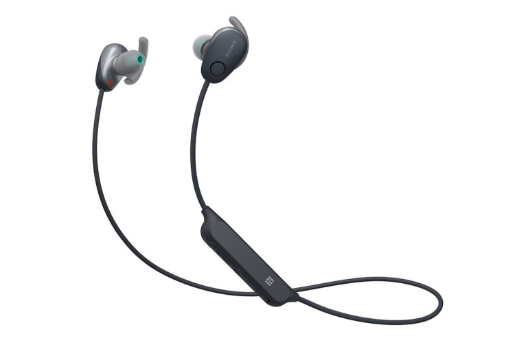 Sony In-Ear Sports Noise Cancelling Headphones with Bluetooth - Black (WISP600NB)