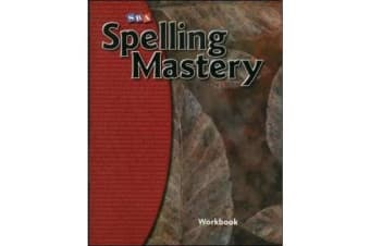 Spelling Mastery Level F, Student Workbook