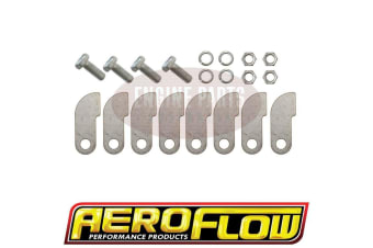 Aeroflow Merge Collector Tabs With Bolt8 X Tabs And 4 X Bolt And Nuts