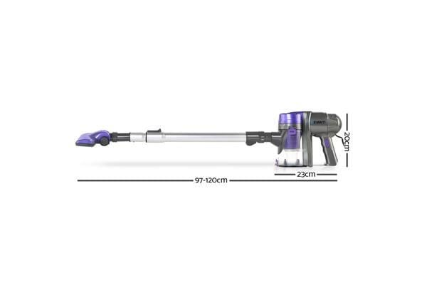Corded Handheld Bagless Vacuum Cleaner (Purple/Silver)