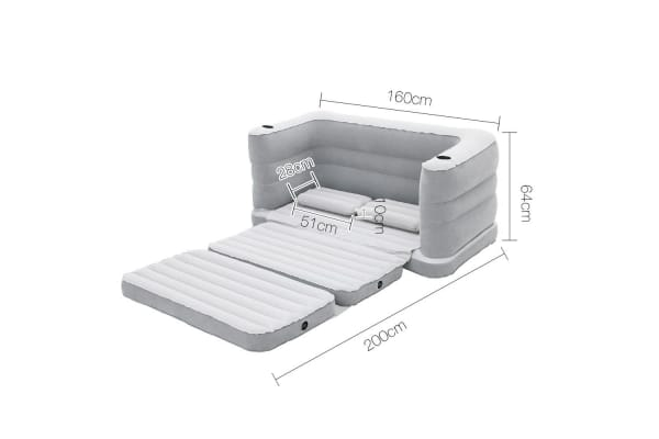 Bestway Inflatable Sofa Bed (Grey)