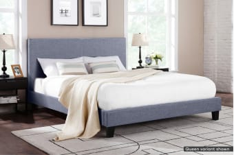 Shangri-La Bed Frame - Ravello Collection (Pewter Grey)