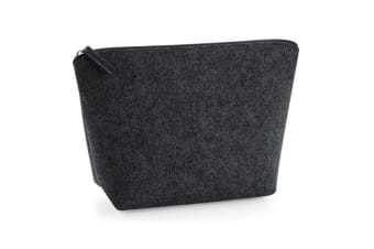 Bagbase Accessory Bag (Charcoal Melange)