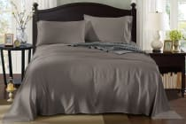 Royal Comfort 100% Natural Bamboo Bed Sheet Set (Charcoal)