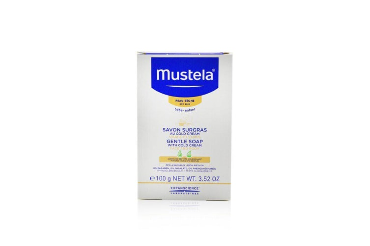 Mustela Gentle Soap With Cold Cream 100g