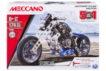Meccano Engineering 5-in-1 Motorcycle Model Set