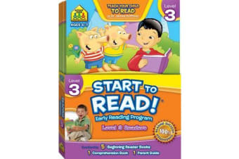 School Zone Start to Read! Level 3 Readers