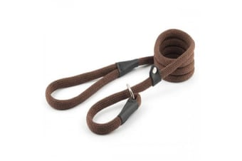Ancol Gun Dog Slip Lead (Brown) (12mm x 1.2m)