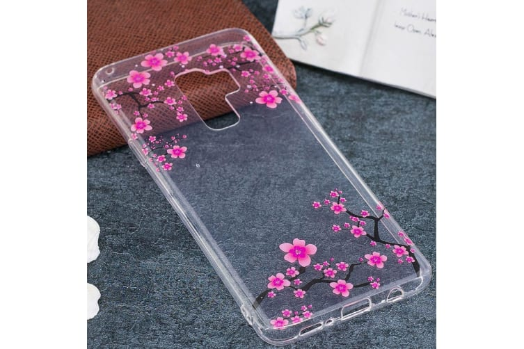 For Samsung Galaxy S9 PLUS Back Case Plum Blossom High-Quality Protective Cover