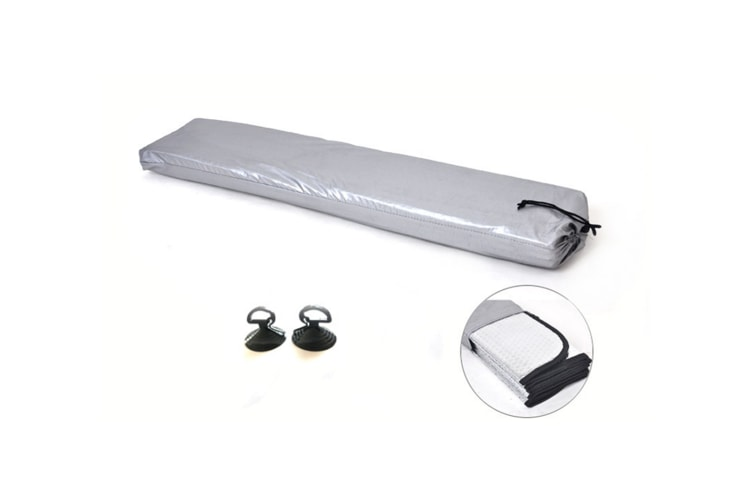 Thickened Aluminum Foil Thermal Insulation For Automobile Sunshade - Silver Silver 130X70Cm