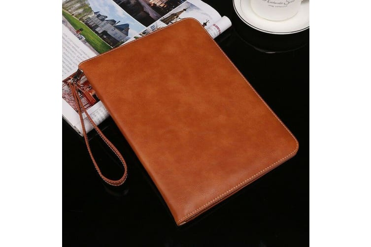 Genuine Luxury Leather Case Cover for Apple iPad Air3 10.5 2019 3rd-Brown