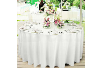 Tablecloths Wedding Tablecloth Round Event Fitted Table Cloth trestle  -  4pcs220cm
