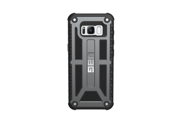 UAG Galaxy S8 Monarch Case (Graphite)