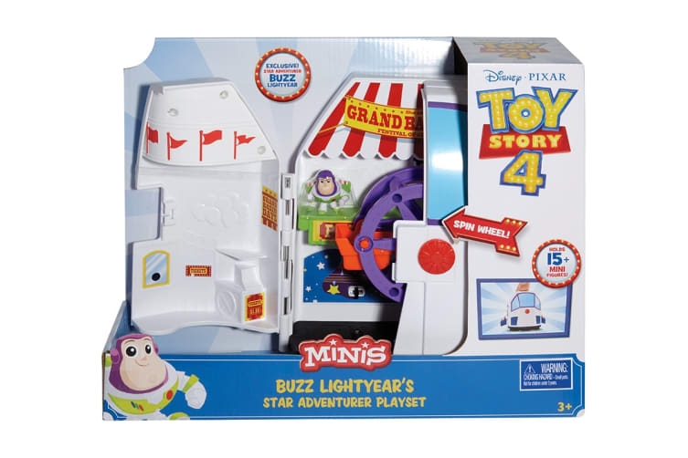 Toy Story 4 Minis Buzz Lightyear's Star Adventure Playset