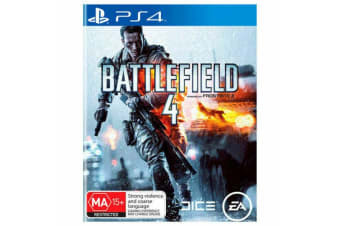 BATTLEFIELD 4 IV PS4 PlayStation 4 GAME GREAT CONDITION
