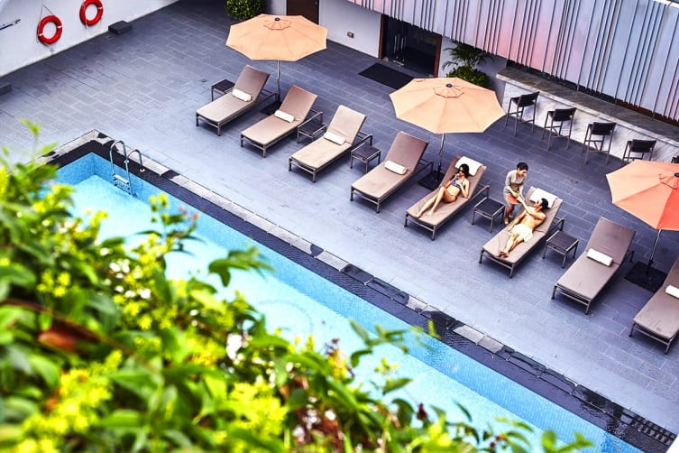 SINGAPORE: 3 Night Stay at Mandarin Orchard Singapore by Meritus  Including Flights for Two (Departing GC/SYD/MEL)