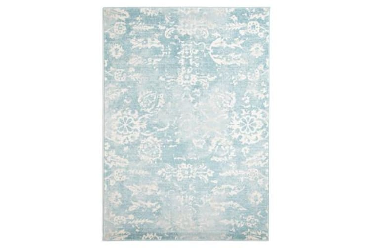 Skyline Blue Transitional Rug 230x160cm