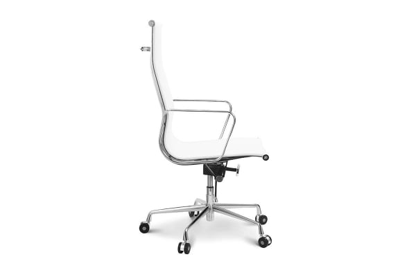 Ovela Executive Eames Replica High Back Mesh Office Chair (White)