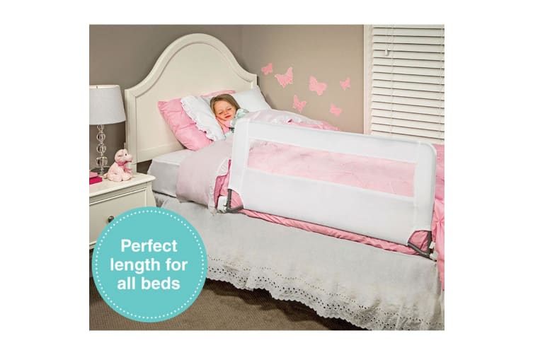 Regalo 109cm Swing Down Kids Bed Rail Children Safety Protection Bed Guard 2y+