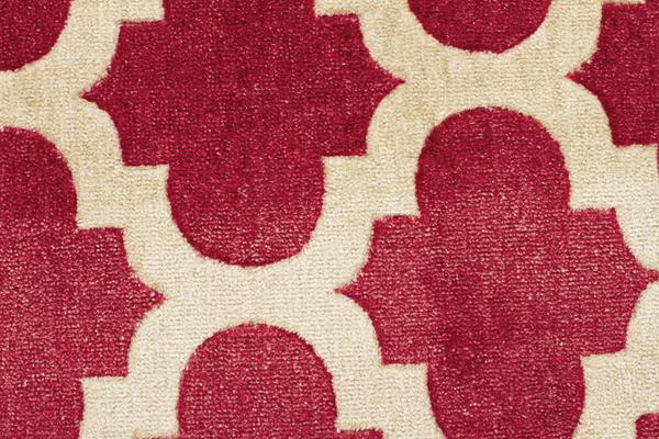 Trellis Stylish Design Rug Red 320x230cm