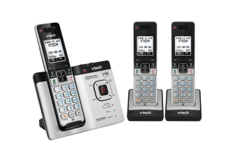 Vtech 15750 Triple Dect6.0 Cordless Phone With Bluetooth Mobileconnect