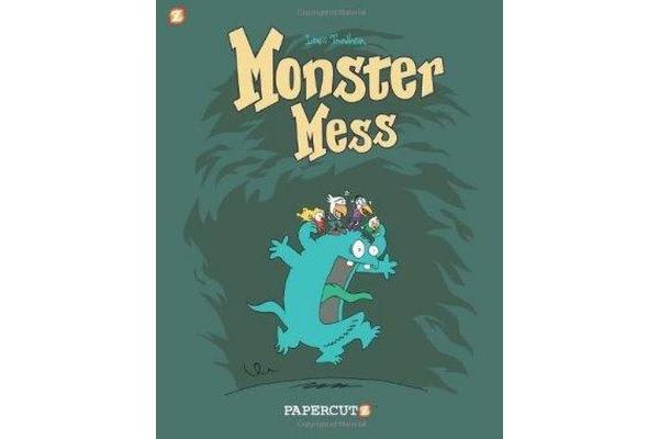 Monster Graphic Novels - Monster Mess