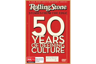 Rolling Stone Stories from the Edge DVD Region 4