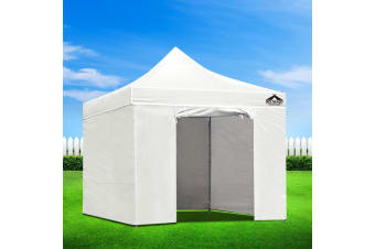Pop Up Gazebo 3x3m Outdoor Gazebos Wedding Marquee Tent White