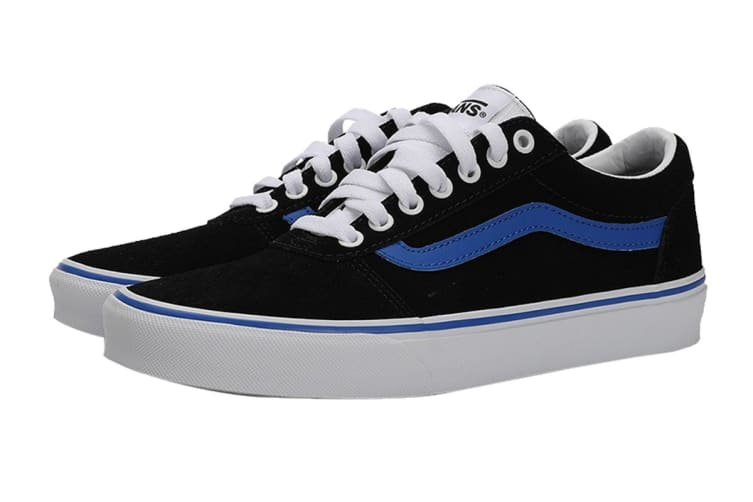 Vans Men's Ward Retro Sport Shoe (Black/Princess Blue, Size 8 US)