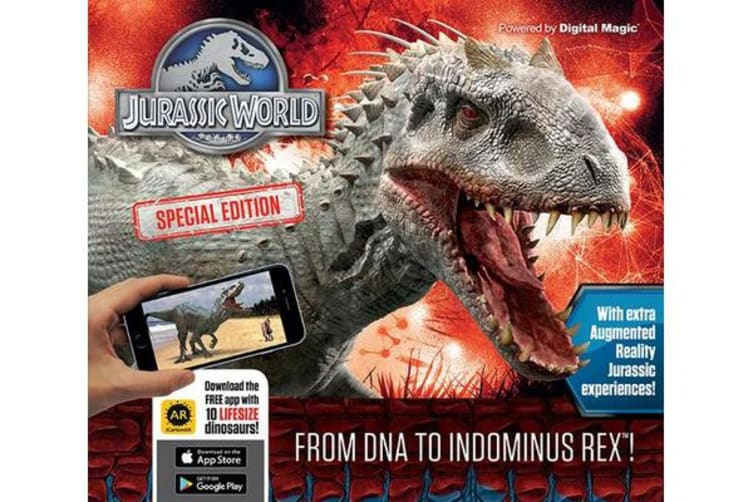 Jurassic World Special Edition - From DNA to Indominus rex!