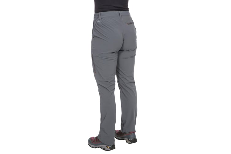 Trespass Womens/Ladies Pasture Hiking Trousers (Carbon) (XS)